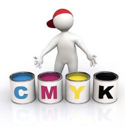 CMYK-printing