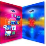 brochure printing in full colour (CMYK)