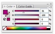 Pantone colour after conversion to CMYK