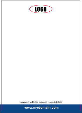 How to design a letterhead fig. 3