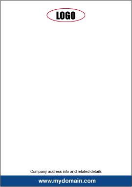 designing a letterhead