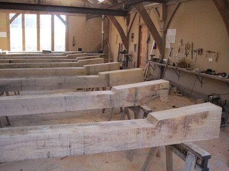 Oak Timber Frames Herefordshire Castle Ring Oak Frame