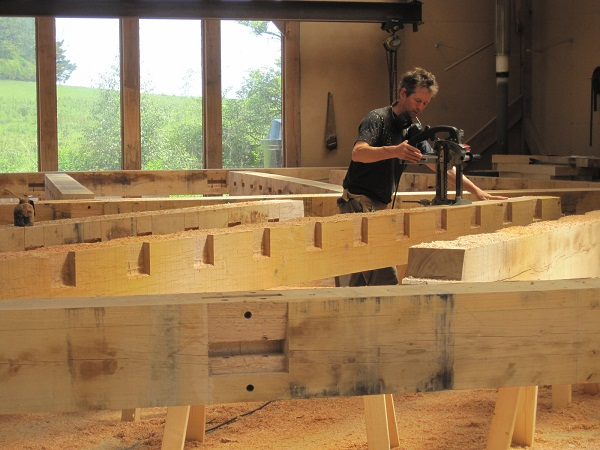 Joist Pockets Oak Timber Framing Blog By Castle Ring