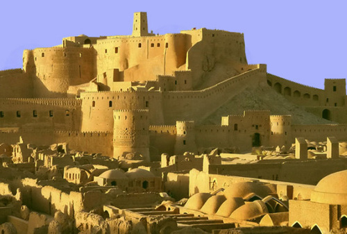 City Walls, Arg-é Bam (Bam Citadel), Bam, Kerman Province, southeastern Iran - www.castlesandmanorhouses.com
