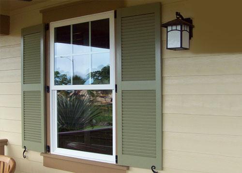Wood Window Shutters Orange County Los Angeles CA