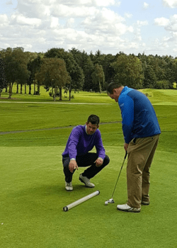 golf lessons & coaching putting