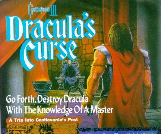 Dracula on a throne