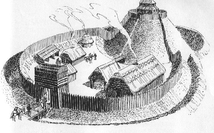 Motte and bailey castle