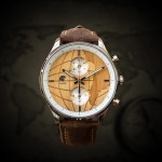 Reloj Castor metal madera