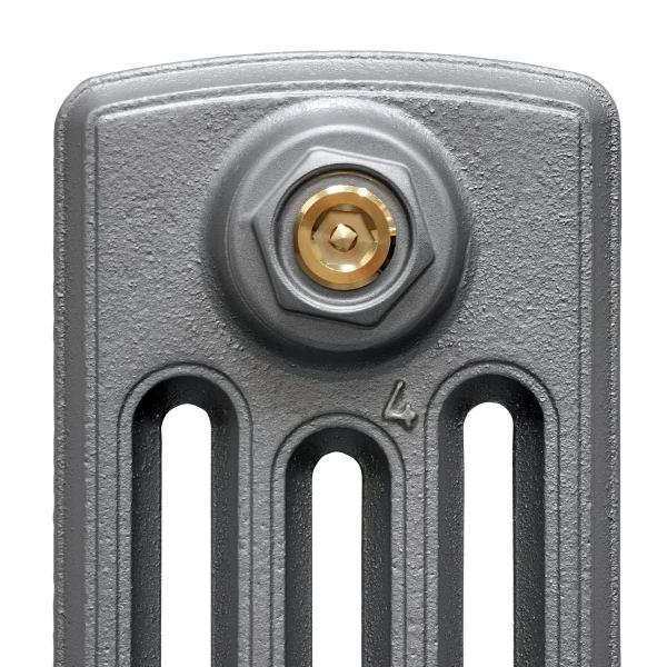 Iron Grey on Grace 4 Column radiator