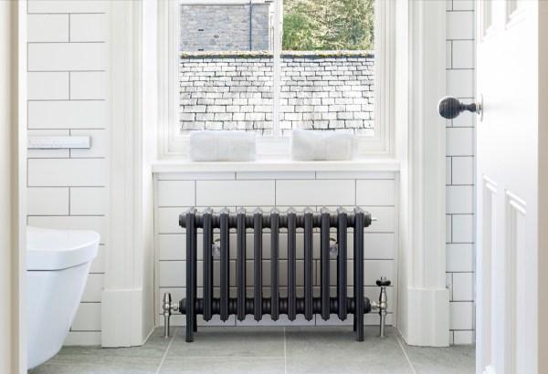 "Grace 4 Column 19"" cast iron radiator"