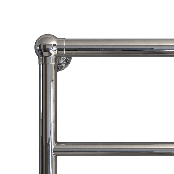 Elara towel warmer in Chrome - Close