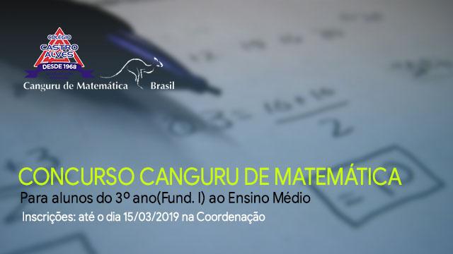 Concurso Canguru de Matemática 2019
