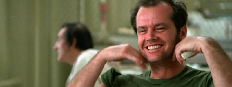 Image result for jack nicholson one flew over the cuckoo's nest gif