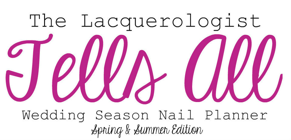 Wedding season nail planner spring summer edition casual contrast with the arrival of spring comes the beginning of wedding season while it is always an honor to be part of a couples special day preparing for the event junglespirit Choice Image
