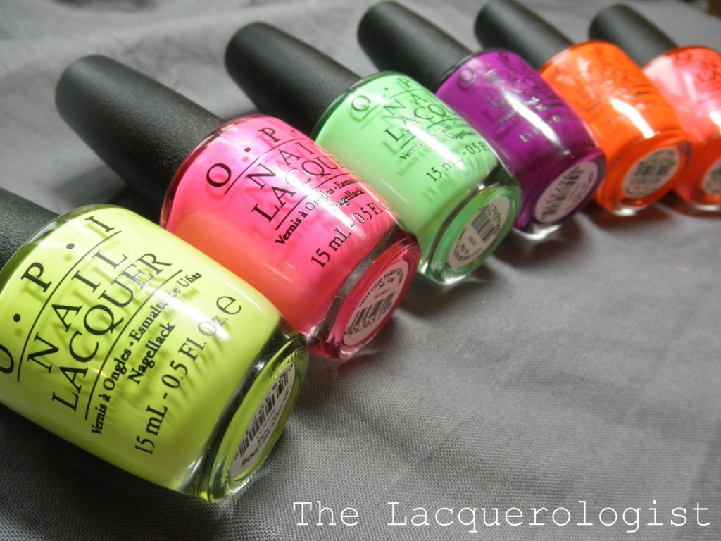 OPI Neons 2014: Swatches & Review! • Casual Contrast