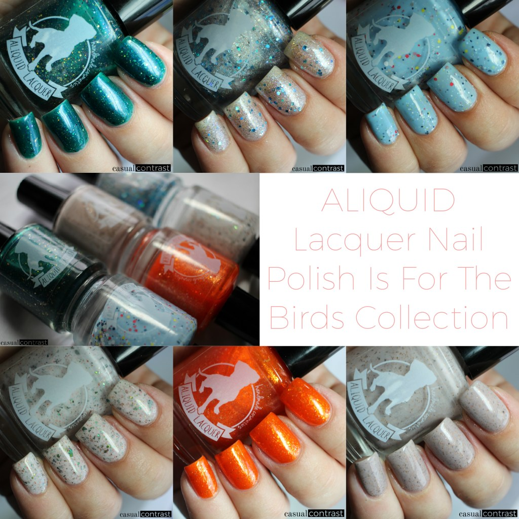 ALIQUID Nail Polish Is For The Birds Collection • Casual Contrast