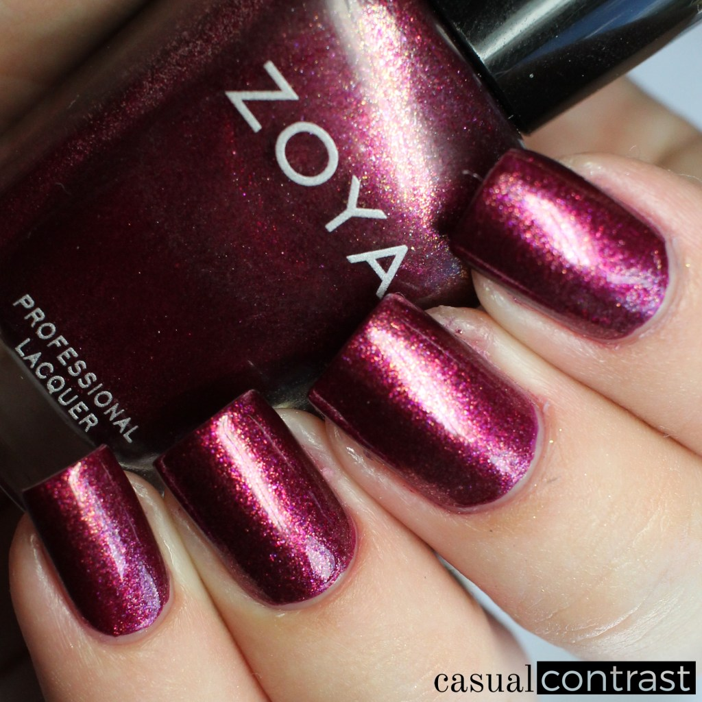 Zoya Britta from the Zoya Urban Grunge Collection • Casual Contrast