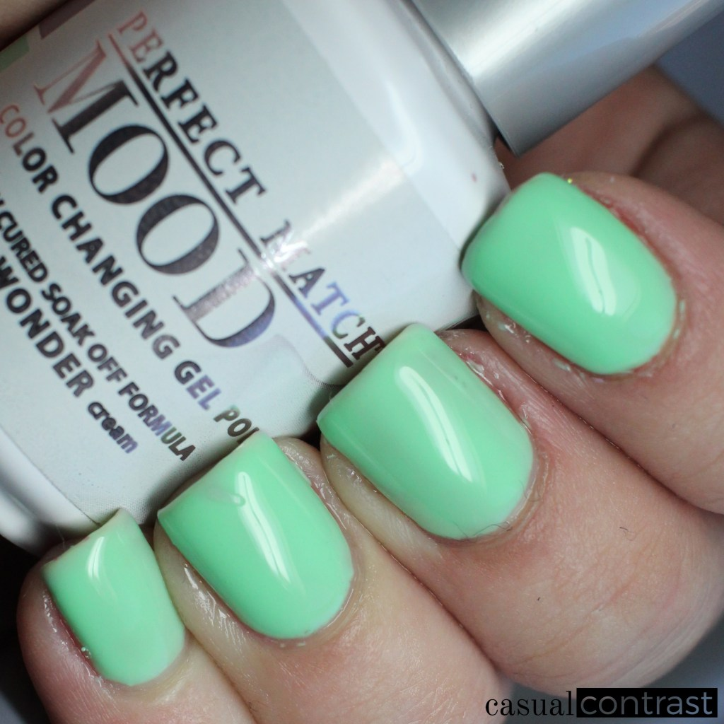 LeChat Island Wonder warm state - LeChat Perfect Match Mood Color Changing Gel Polish: Swatches & Review • Casual Contrast