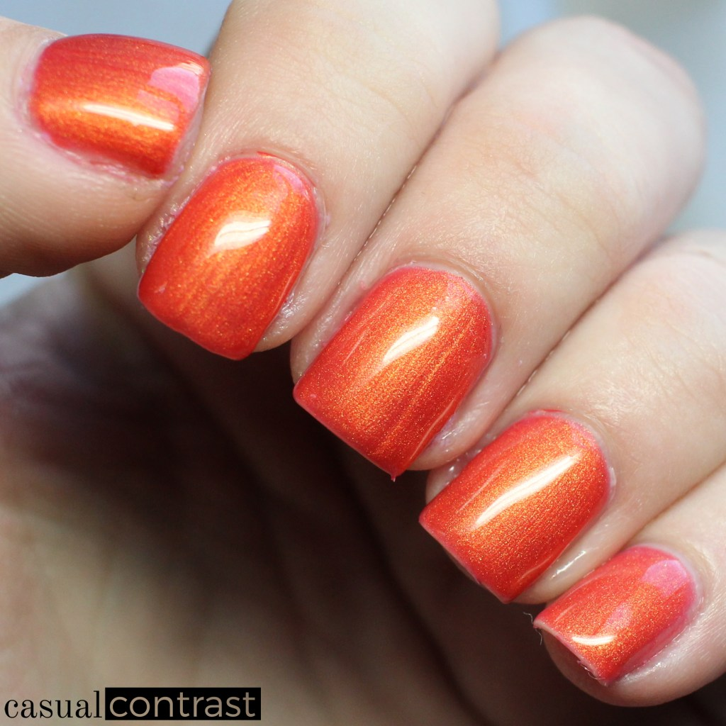 LeChat Sunset Beach warm state - LeChat Perfect Match Mood Color Changing Gel Polish: Swatches & Review • Casual Contrast