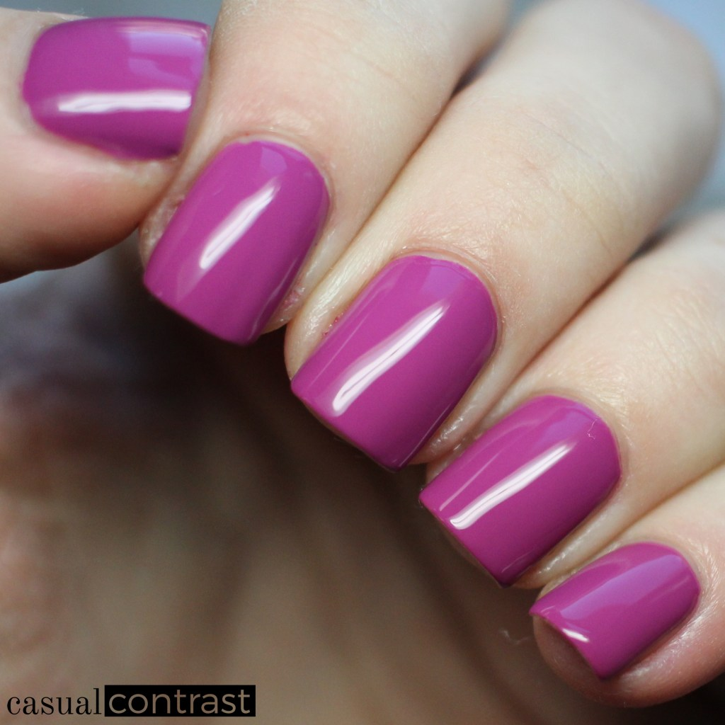 Sally Hansen Miracle Gel Lilac Insomniac from the Festival Floral Collection: Swatches & Review • Casual Contrast