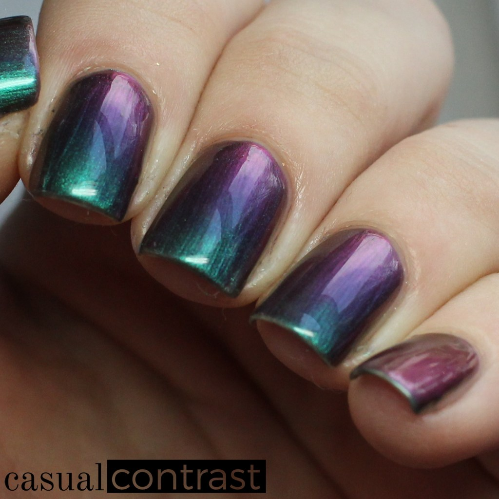 KBShimmer Iridescent Exposure from the KBShimmer NEW Multi Chromes • Casual Contrast