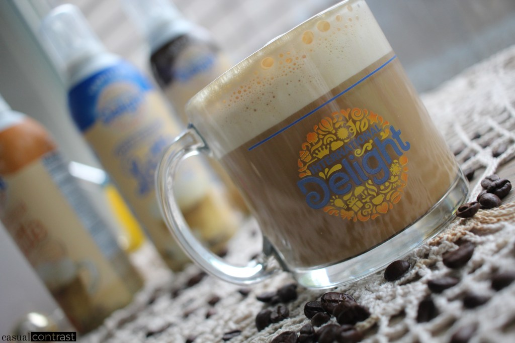 Super Easy Lattes at Home with International Delight One Touch Latte! • Casual Contrast