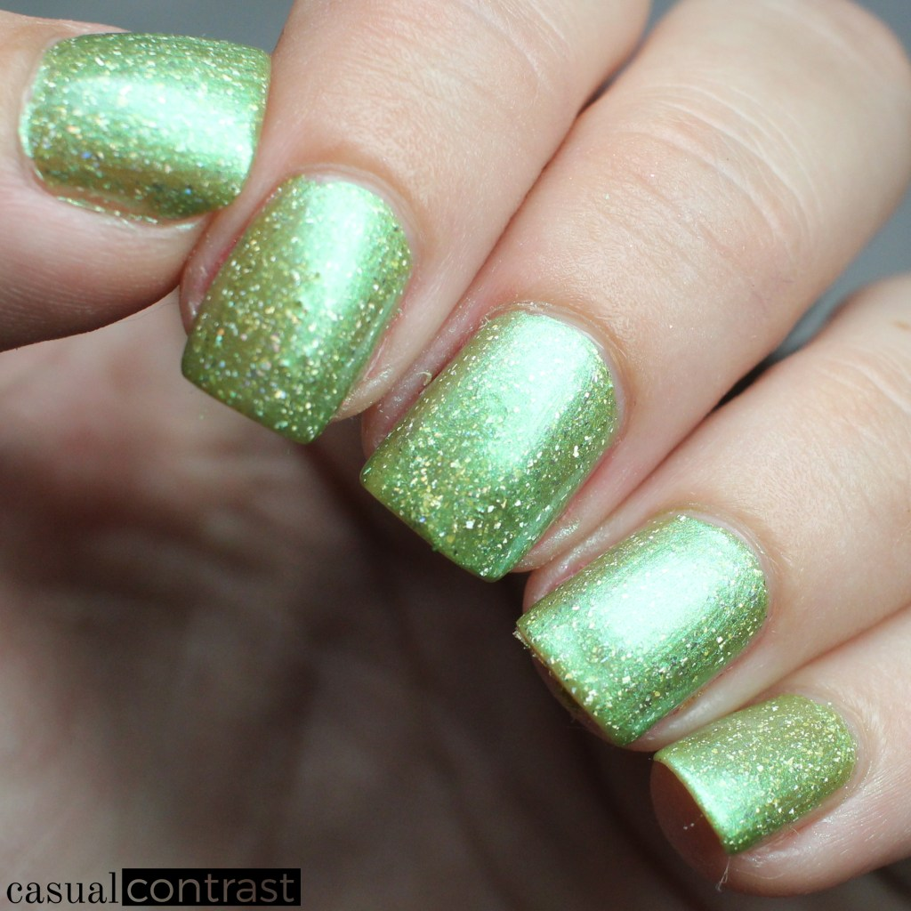KBShimmer Kiwi Real from the KBShimmer Summer Vacation Collection • Casual Contrast