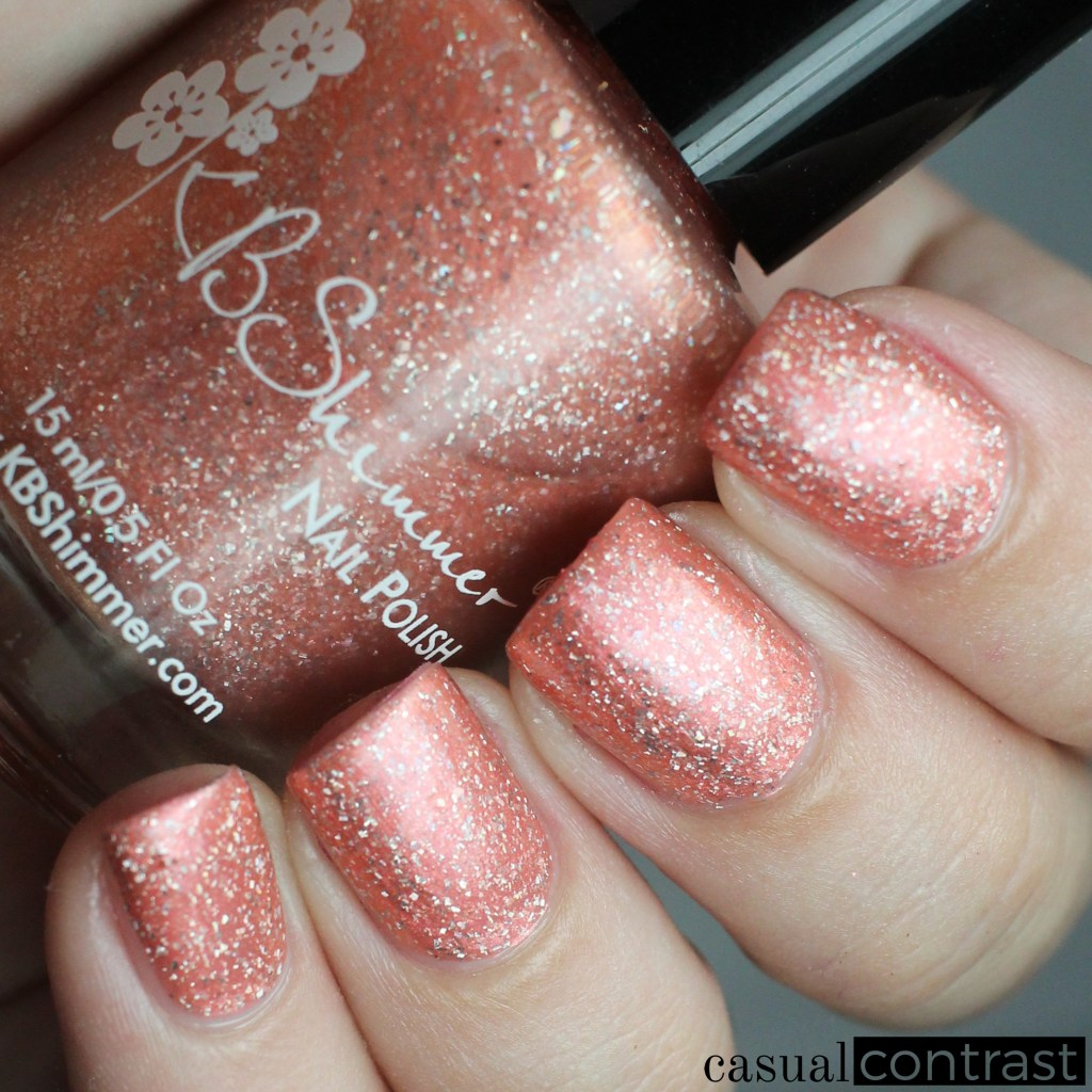KBShimmer Shady Beaches from the KBShimmer Summer Vacation Collection • Casual Contrast