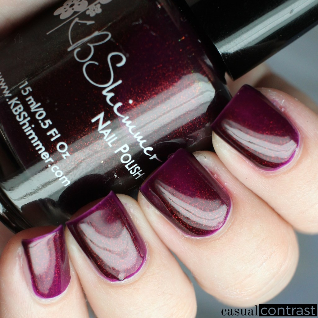 KBShimmer So Jelly from the KBShimmer Unicorn Pee Polishes • Casual Contrast