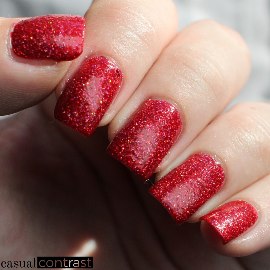KBShimmer Deck The Claws from the Holo-Day Collection 2017: Swatches & Review! •Casual Contrast
