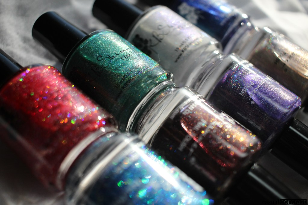 KBShimmer Holo-Day Collection 2017: Swatches & Review! •Casual Contrast