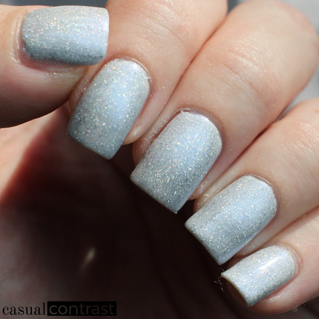 KBShimmer Up To Snow Good from the Holo-Day Collection 2017: Swatches & Review! •Casual Contrast