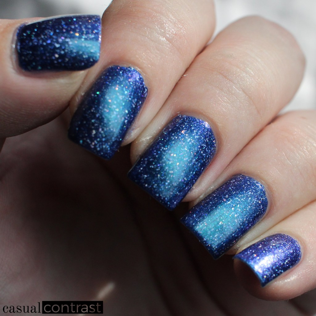 KBShimmer Why So Sirius? from the Holo-Day Collection 2017: Swatches & Review! •Casual Contrast