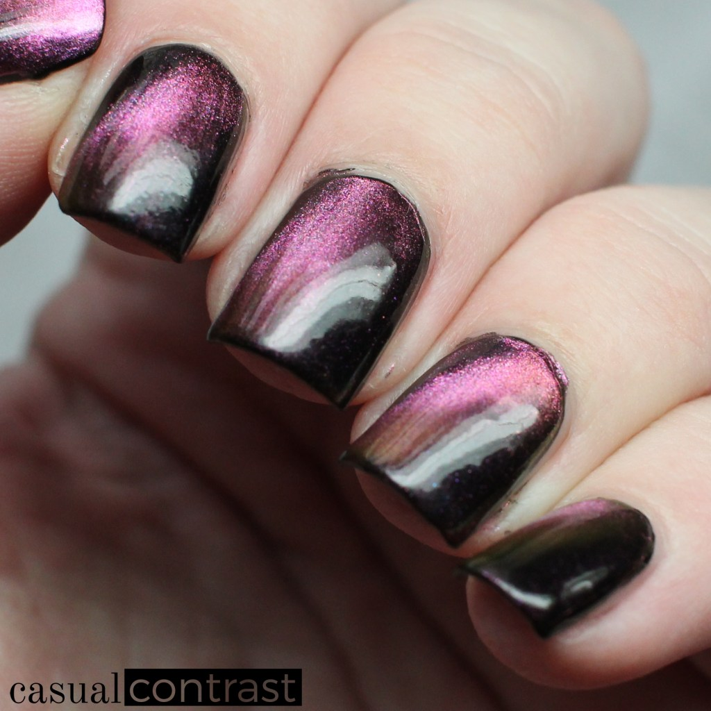 Starrily Nova Multichrome Magnetic Polish: Swatches & Review • Casual Contrast