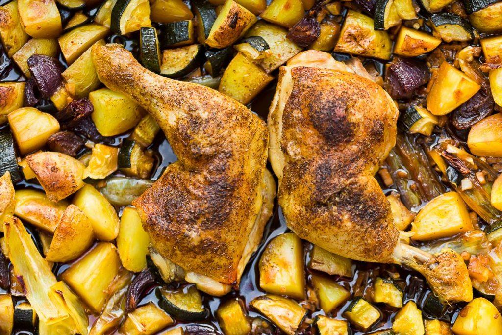 Teriyaki Hühnerkeulen casual cooking österreichischer food blog