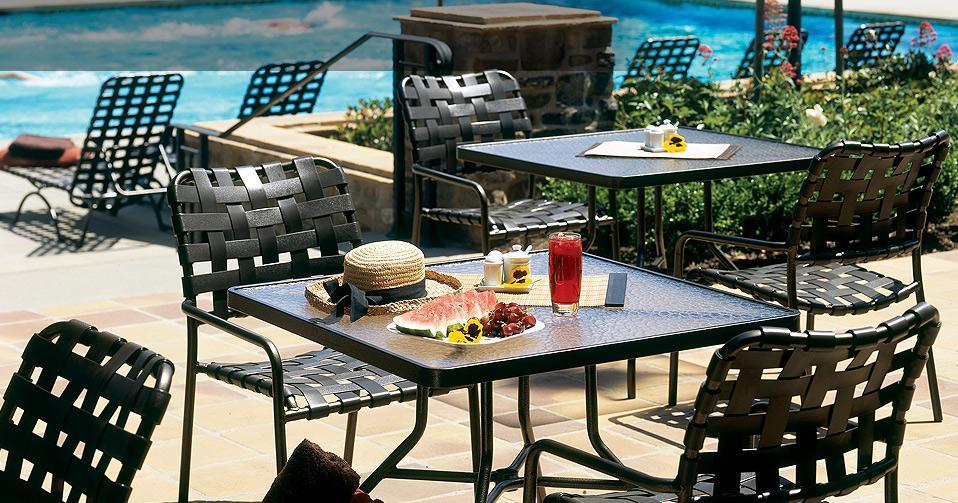 tropitone patio sets commercial