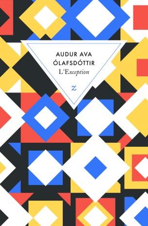 L'Exception by Auður Ava Ólafsdóttir ; design by David Pearson (Éditions Zulma / 2014)