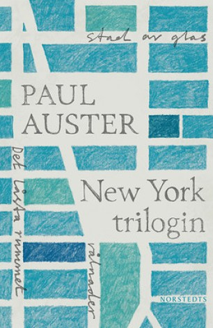New York Trilogin by Paul Auster; design by Sara R. Acedo (Norstedts klassikerserie / March 2011)