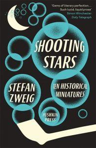 Shooting Stars by Stefan Zweig; design by David Pearson (Pushkin Press / February 2015)