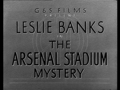 The Arsenal Stadium Mystery (1939) via annyas.com