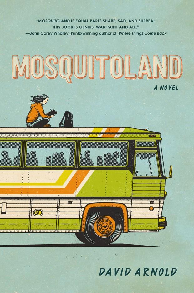 Mosquitoland design Theresa Evangelista illustration Andrew Fairclough