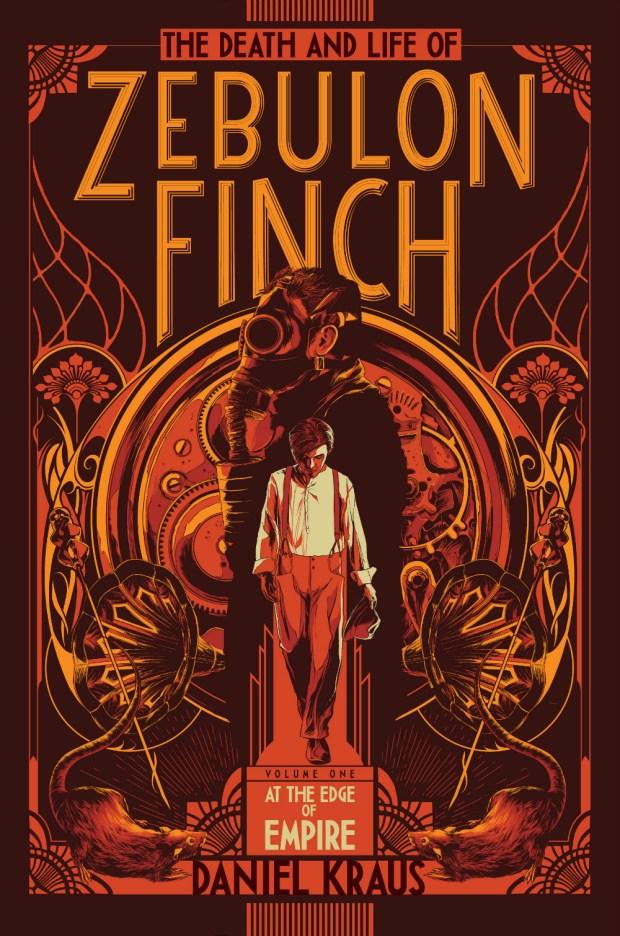 Zebulon Finch design Lizzy Bromley illustration Ken Taylor
