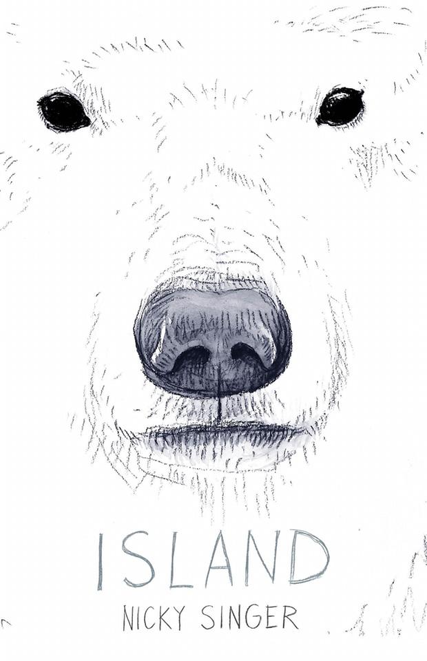Island cover art Chris Riddell