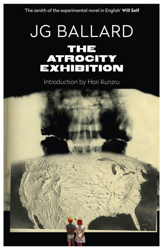 jgballard-bookcover-4thestate-theatrocityexhibition-harikunzru