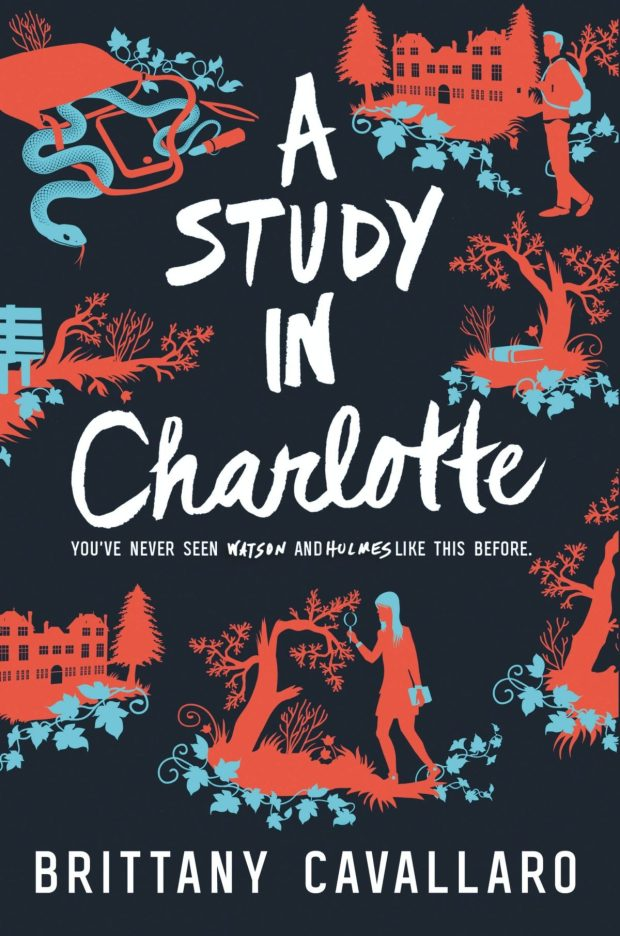 Study in Charlotte jacket art Dan Funderburgh design Katie Fitch