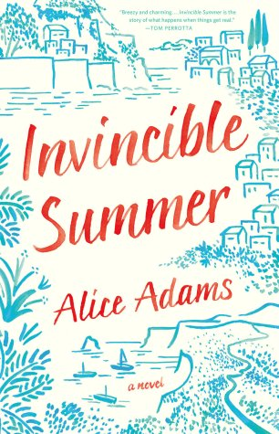 Invincible Summer by Alice Adams; design by Lauren Harms (Little, Brown & Co. / June 2016)