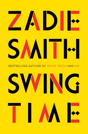 Swing Time by Zadie Smith; design by Gray318 (Hamish Hamilton / November 2016)