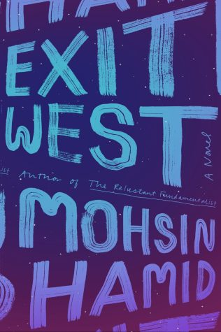 Exit West by Mohsin Hamid; design by Rachel Willey (Riverhead / March 2017)