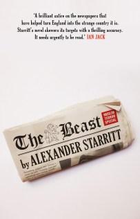 The Beast by Alexander Starritt; design by Gray318 (Head of Zeus / September 2017)